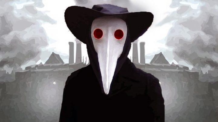Maschera di un medico della peste.